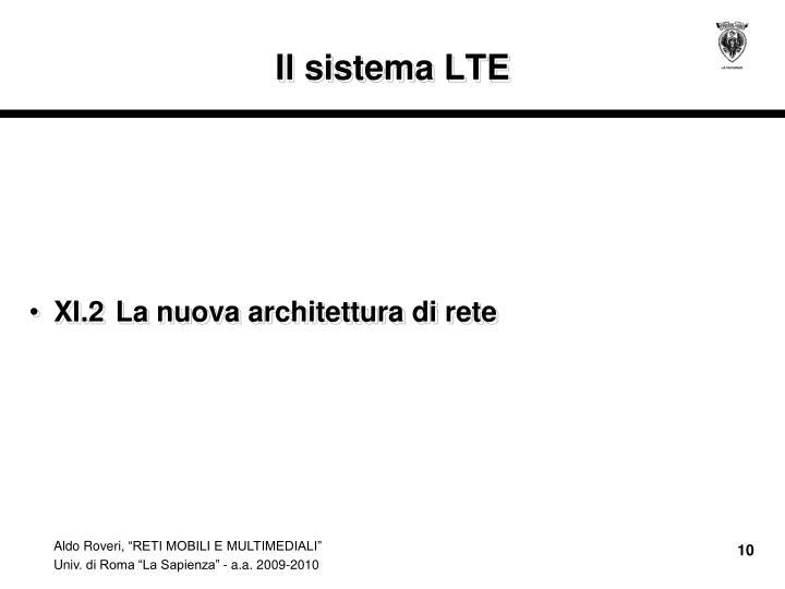 Il sistema LTE