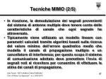 tecniche mimo 2 5
