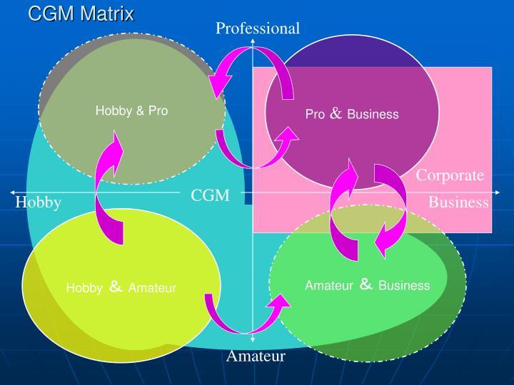 CGM Matrix