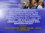 eesti asi 4001