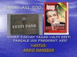 eesti asi 5001