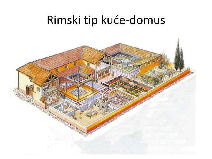 Rimski tip kuće-domus