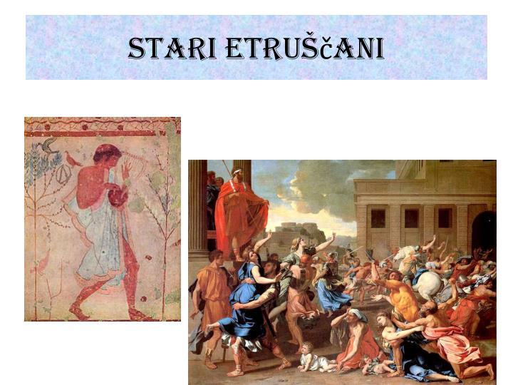 Stari Etruščani