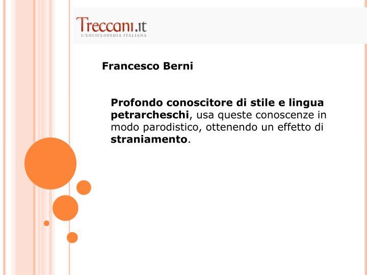 Francesco Berni