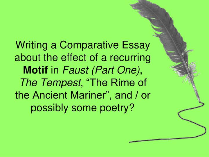 writing a comparative poetry essay Poetry essay - comparing two poems - gcse standard here is an exemplar poetry essay, at gcse standard, which attained almost full marks the poetry essay was written by a student (aged 16) in.