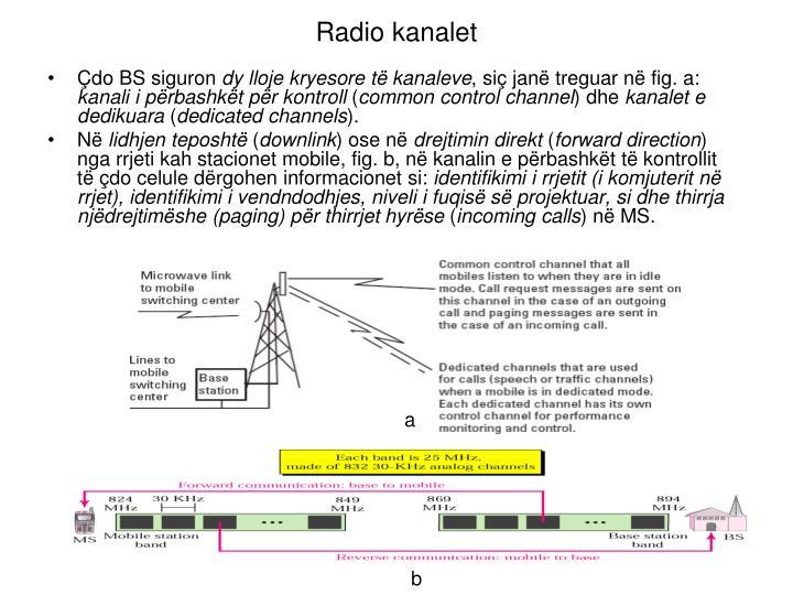 Radio kanalet