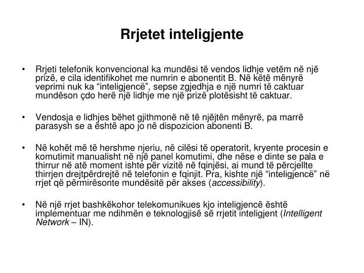 Rrjetet inteligjente