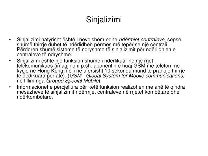 Sinjalizimi
