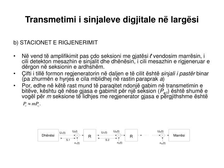 Transmetimi i sinjaleve digjitale në largësi
