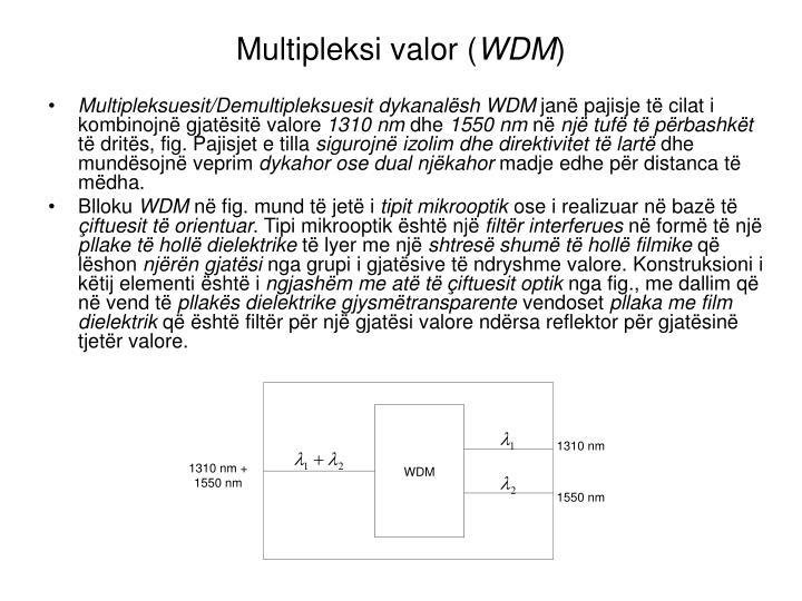 Multipleksi valor (