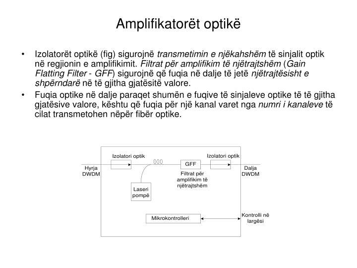 Amplifikatorët optikë
