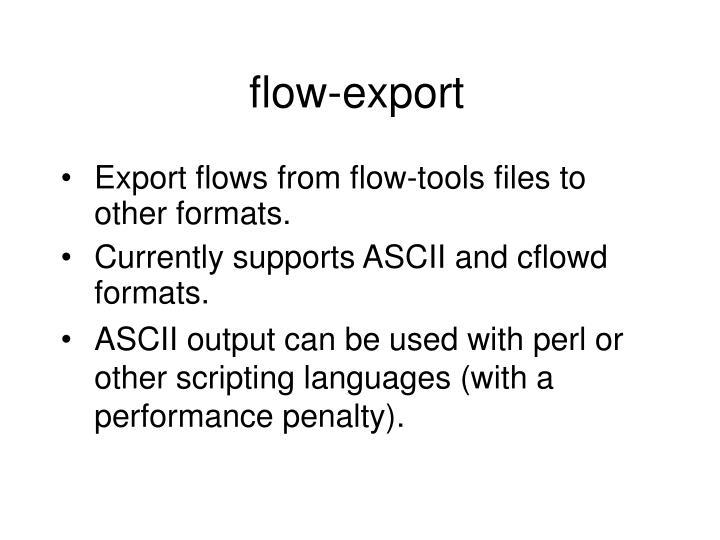 flow-export