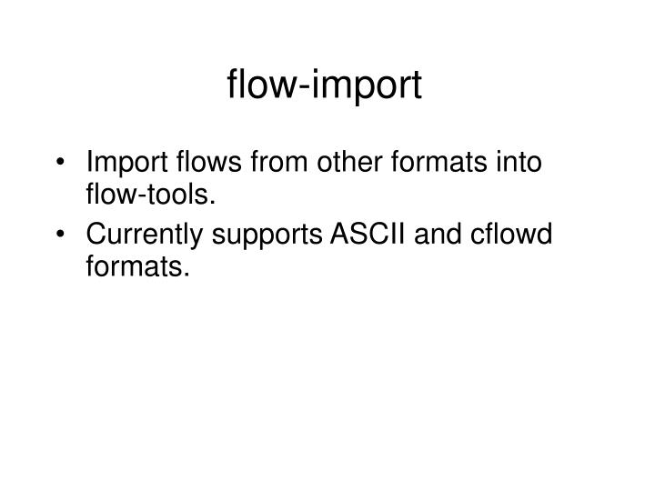 flow-import