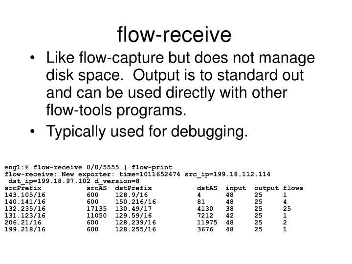 flow-receive