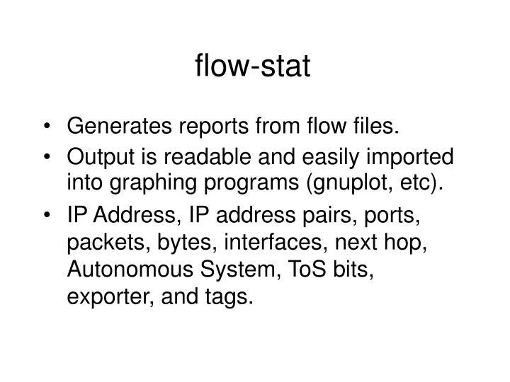 flow-stat
