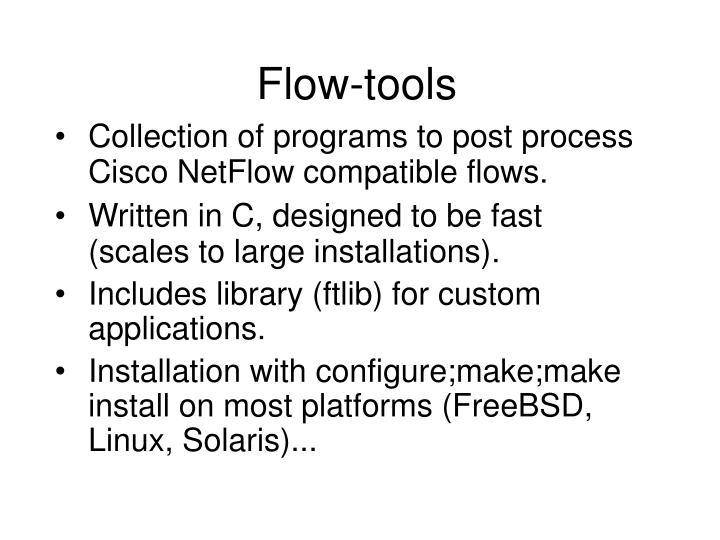 Flow-tools