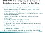 2011 01 global policy for post exhaustion ipv4 allocation mechanisms by the iana2