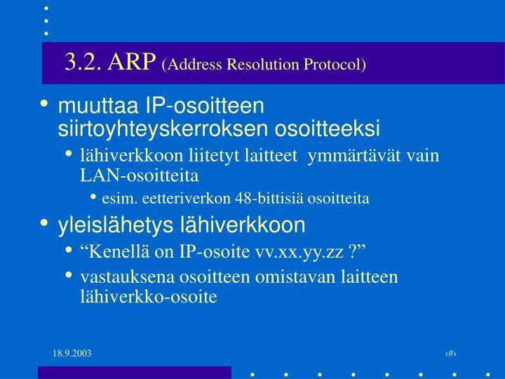 3.2. ARP