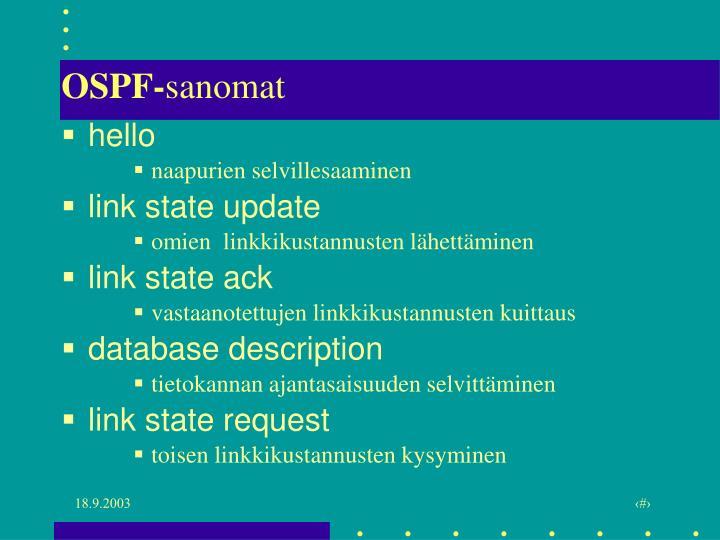 OSPF-