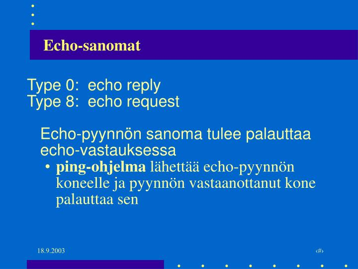 Echo-sanomat