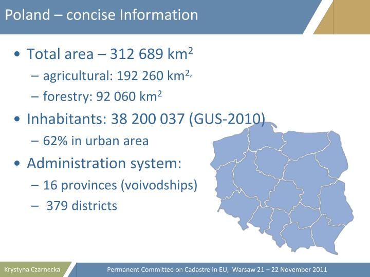 Poland – concise Information