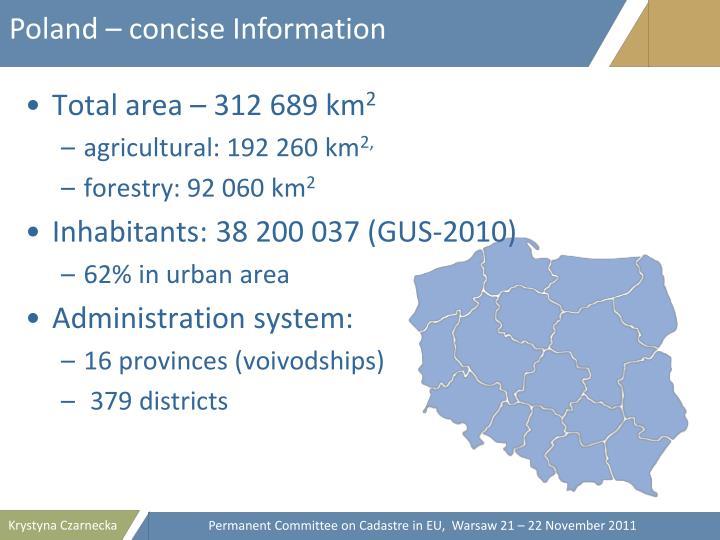 Poland – concise Information