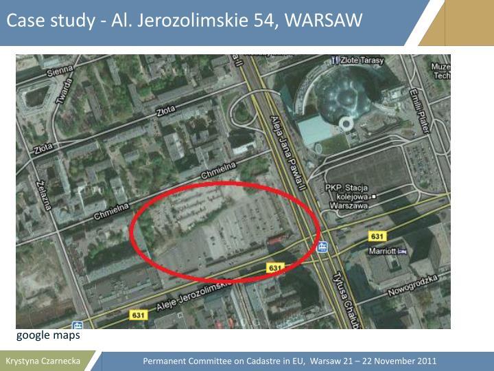 Case study - Al. Jerozolimskie 54, WARSAW