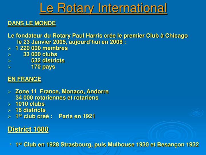 Le Rotary International