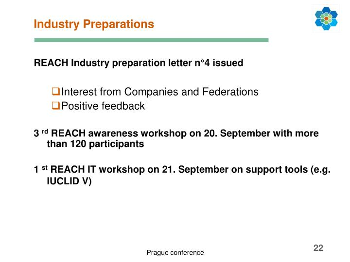 Industry Preparations
