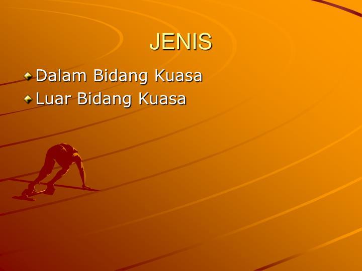 JENIS