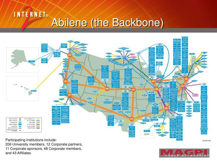 Abilene (the Backbone)
