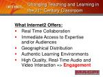 changing teaching and learning in the 21 st century classroom