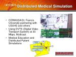 distributed medical simulation