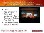 international collaborations leni basso group motion danceco