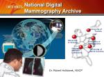 national digital mammography archive