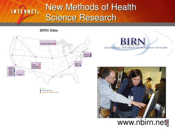 New Methods of Health