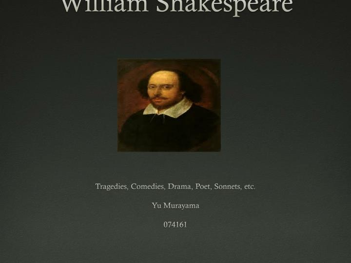 an analysis of william shakespeares two tragic characters King lear is a tragedy written by william shakespeareit depicts the gradual descent into madness of the title character, after he disposes of his kingdom giving bequests to two of his three daughters based on their flattery of him, bringing tragic.