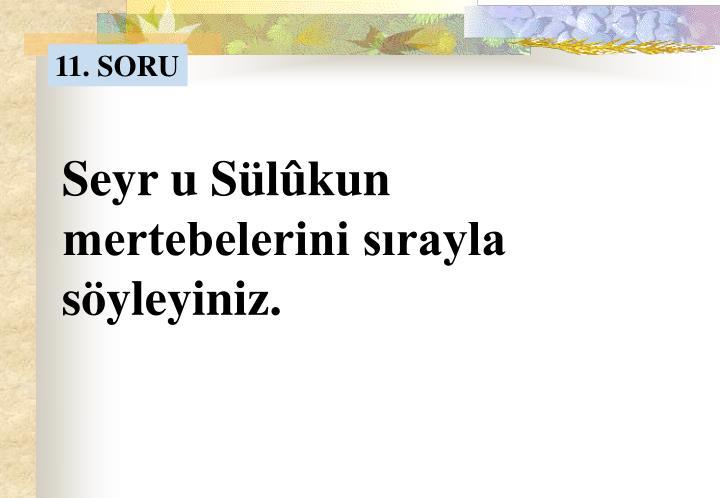 11. SORU