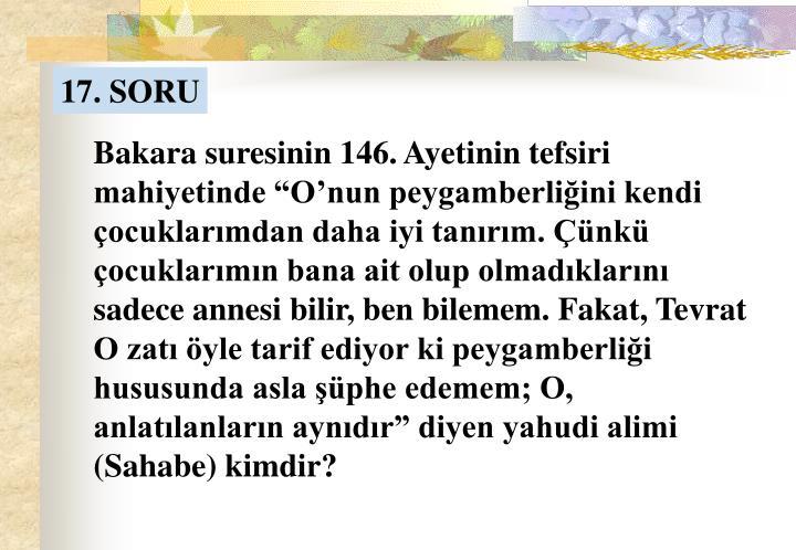 17. SORU