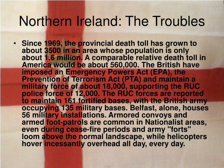 Northern ireland the troubles1