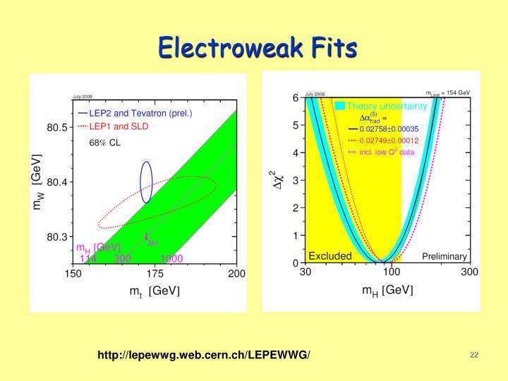 Electroweak Fits