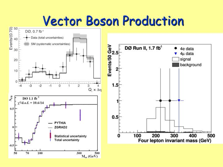 Vector Boson Production
