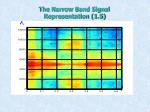 the narrow band signal representation 1 5