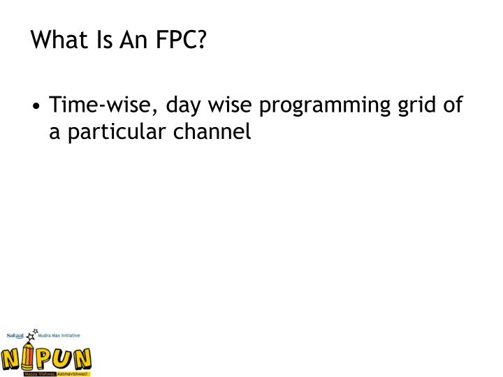 What Is An FPC?