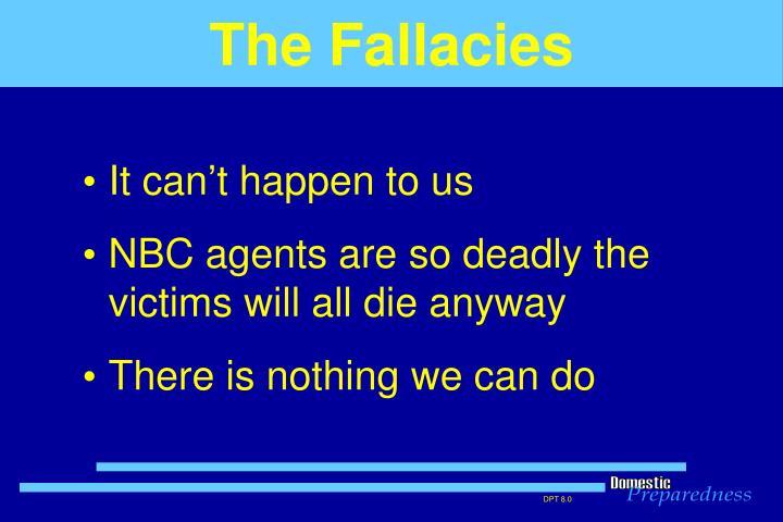 The Fallacies