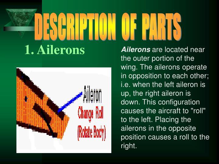 DESCRIPTION  OF  PARTS