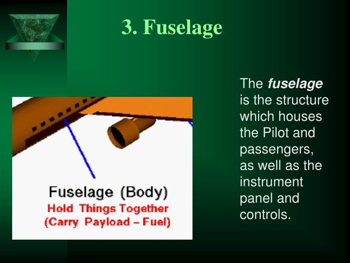 3. Fuselage