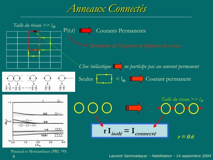 Anneaux Connectés