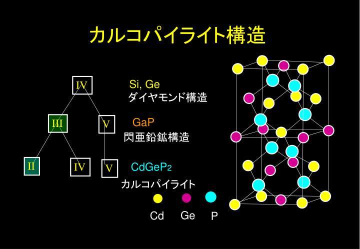 カルコパイライト構造