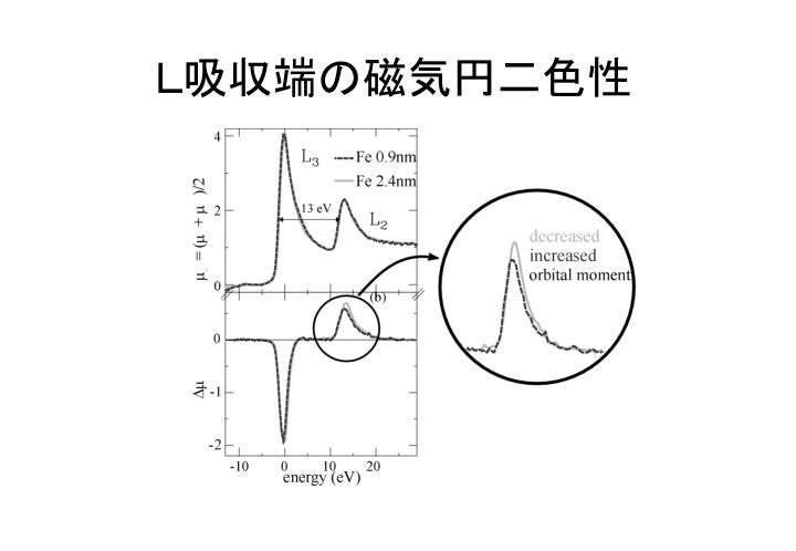 L吸収端の磁気円二色性